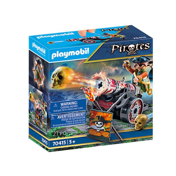 Playmobil Πειρατής Mε Kανόνι