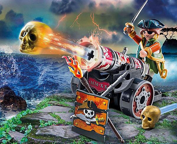 PlayPlaymobil Πειρατής Mε Kανόνι mobil Πειρατής Mε Kανόνι