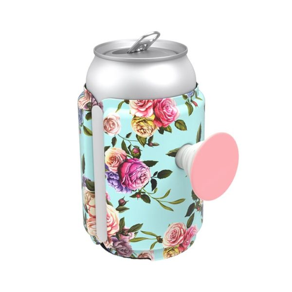 Pop can holder Retro Wild Rose