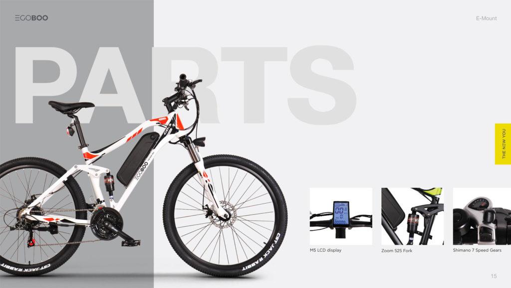 EGOBOO E-Bike E-Mount - Μαυρο - - CD15-BLACK