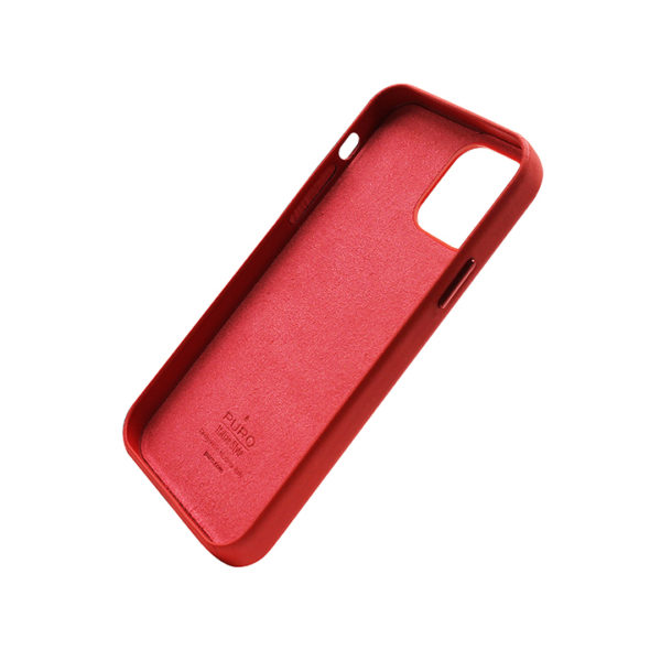 intellizen_Cover-leather-look-'SKY'-for-iPhone-13-6.1′-Red